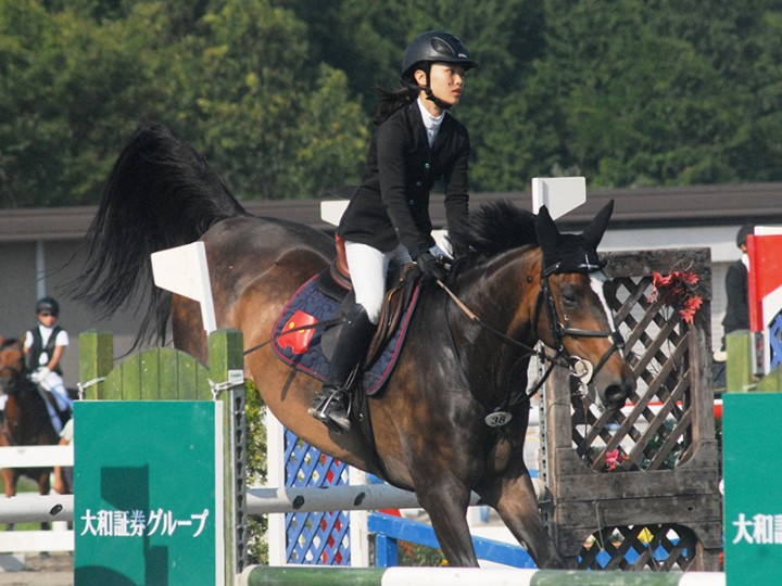 第39回全日本ジュニア障害馬術大会2015ご報告